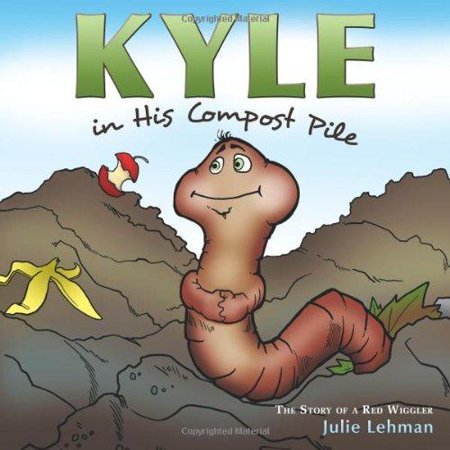 Kyle In His Compost Pile  The Story Of A Red Wiggler