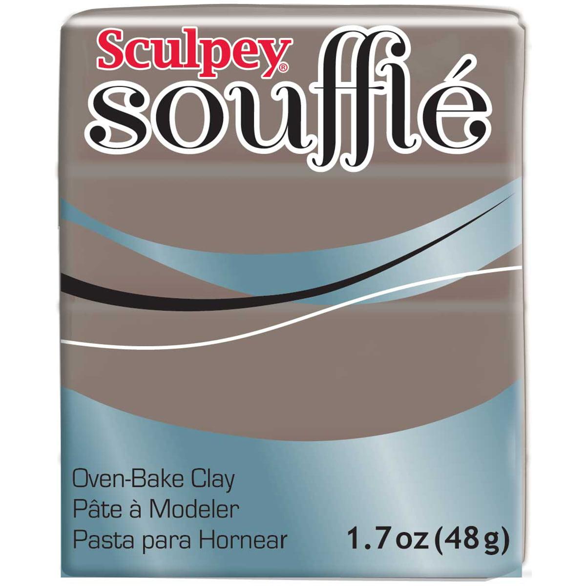 Sculpey Souffle Clay 2oz-Mocha
