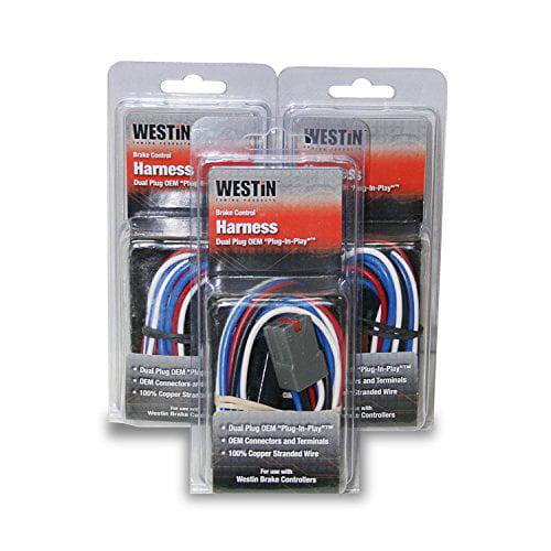 Westin 2004-2014 Nissan Titan/Armada Wiring Harness - Black