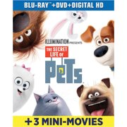 The Secret Life of Pets (Blu-ray + DVD + Digital Copy)