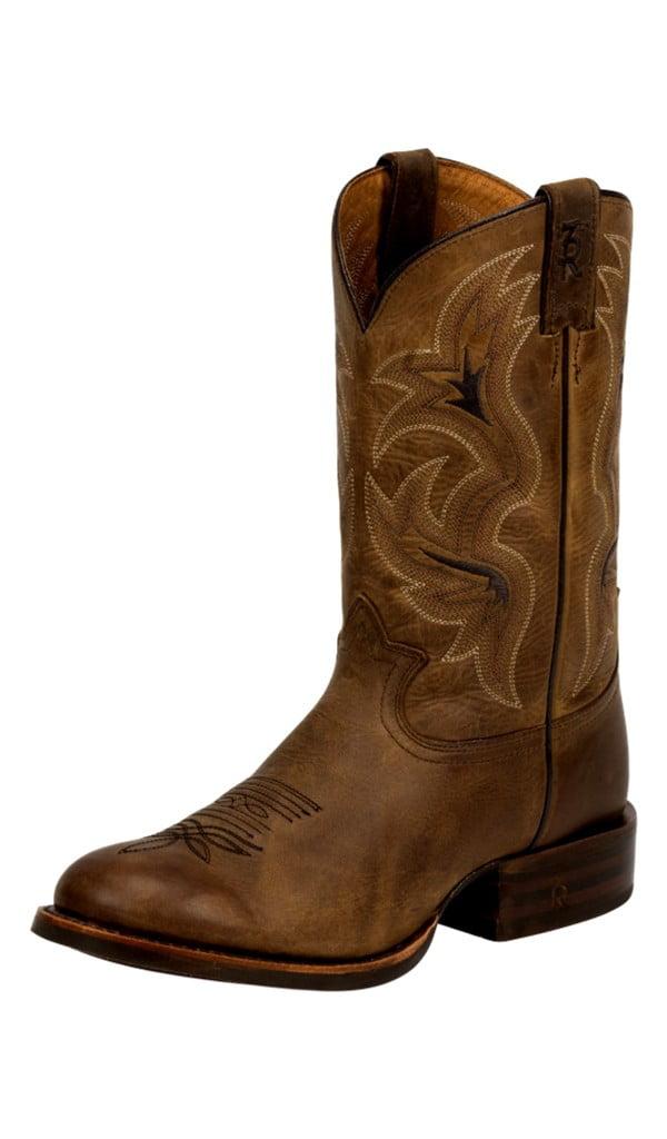 Tony Lama Western Boots Mens Socorro Tan Leather Spur Ledge 3R1131 by Tony Lama Boots