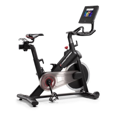 ProForm SMART Power 10.0 Indoor Cycling Exercise Bike with 6-Month iFit (Body Power Deluxe Multifunctional Power Tower Exercises)