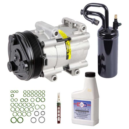 AC Compressor w/ A/C Repair Kit For Ford Ranger Explorer Mazda Mercury V6