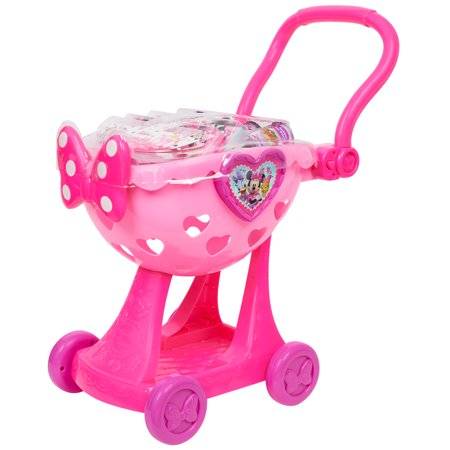 Minnie's Happy Helpers Bowtique Shopping Cart for $<!---->