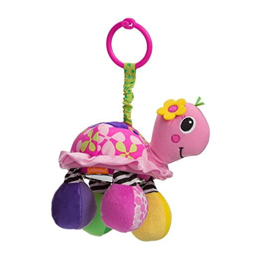 Infantino Sparkle Collection Topsy Turtle Mirror Pal by Infantino