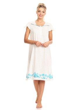 ab00fec471 Product Image 10074 Womens Nightgown Sleepwear Pajamas - Woman Sleeveless Sleep  Dress Nightshirt Blue 3X