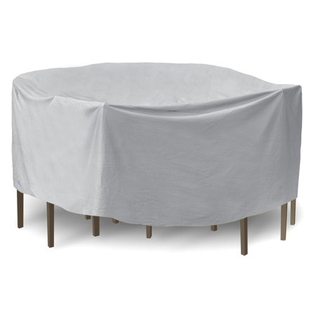 pci by adco patio round table and chair cover with