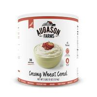 Augason Farms Creamy Wheat Cereal 65 oz #10 Can