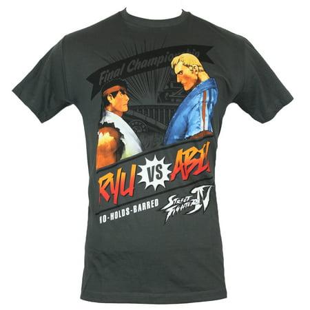Street Fighter IV Mens T-Shirt - Final Championship