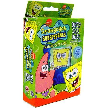 Spongebob Squarepants Deep Sea Duel Deep Sea Duel Starter Deck Aquatic Amigos - Spongebob Halloween Horror Game