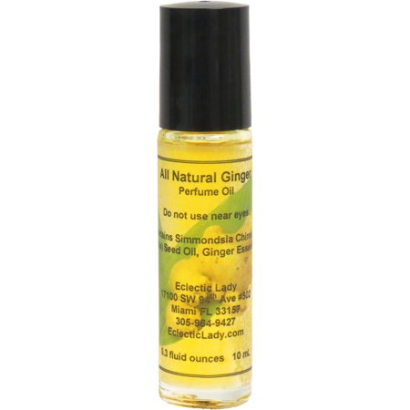 All Natural Ginger Perfume Oil, Small