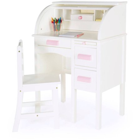 Guidecraft Jr Roll Top Desk White