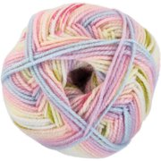Red Heart Hugs & Kisses Yarn-Primrose