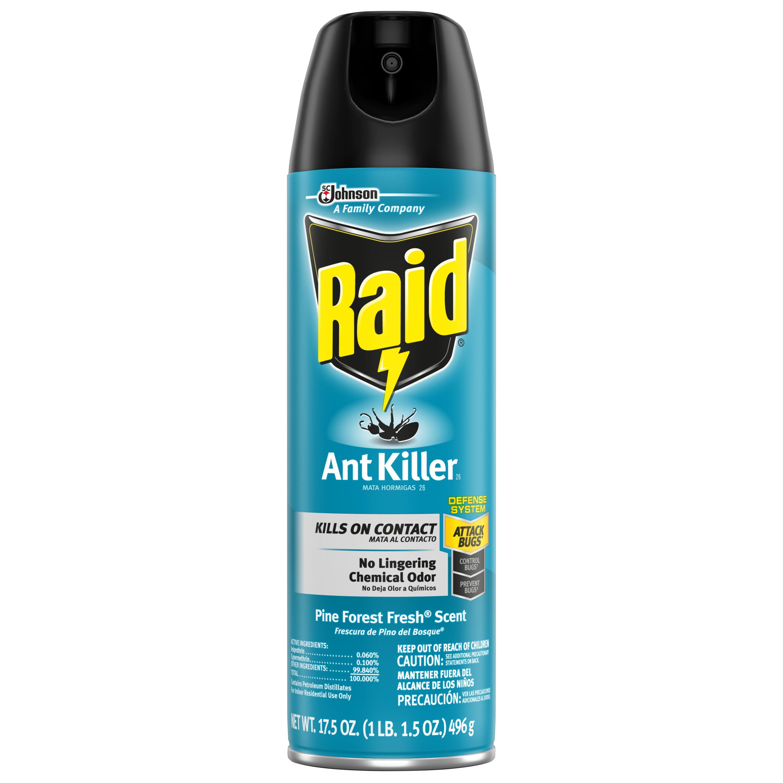 Raid Ant Killer 26 Pine Forest Fresh Scent 17 5 Oz Walmart Com Walmart Com