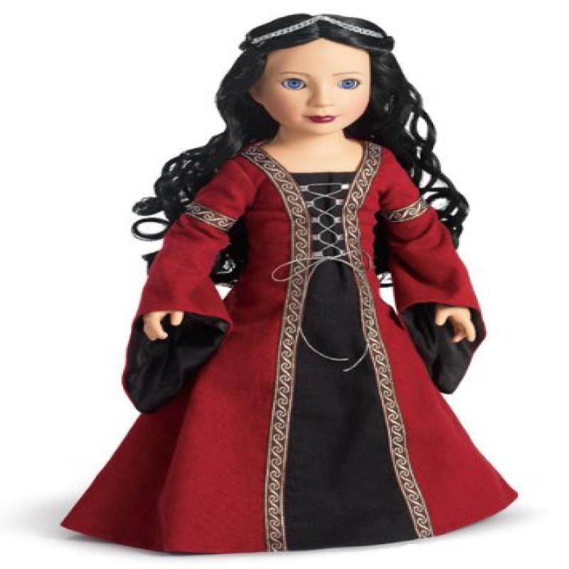 """Carpatina Dolls Veronika Medieval Princess 18"""" Vinyl Slim..."""