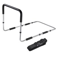 Medical Supply Bed Rail Handle Adjustable Height Bed Assist Bar Grab Bar Safety Hand Rail with Safety Strap