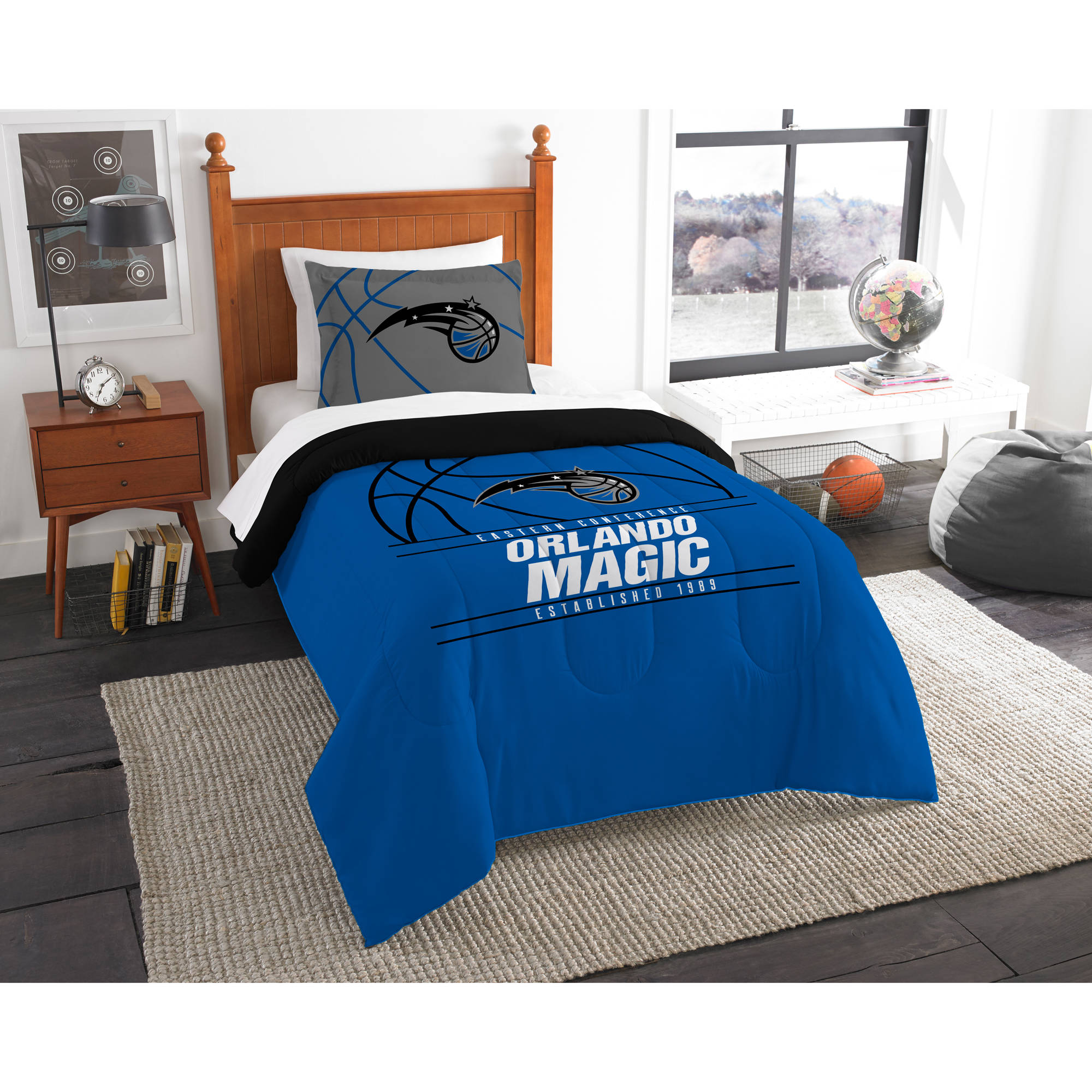 "NBA Orlando Magic ""Reverse Slam"" Bedding Comforter Set"