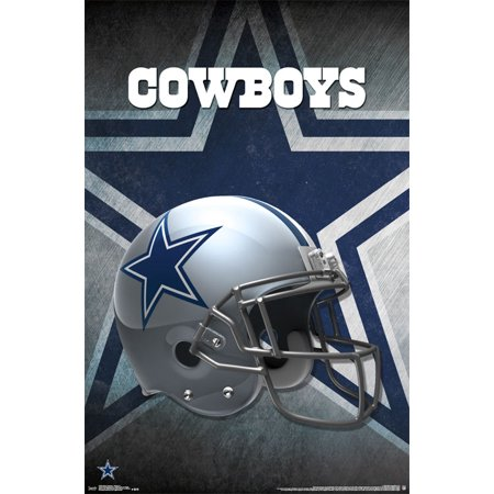 Trends International Dallas Cowboys Helmet Wall Poster 22.375