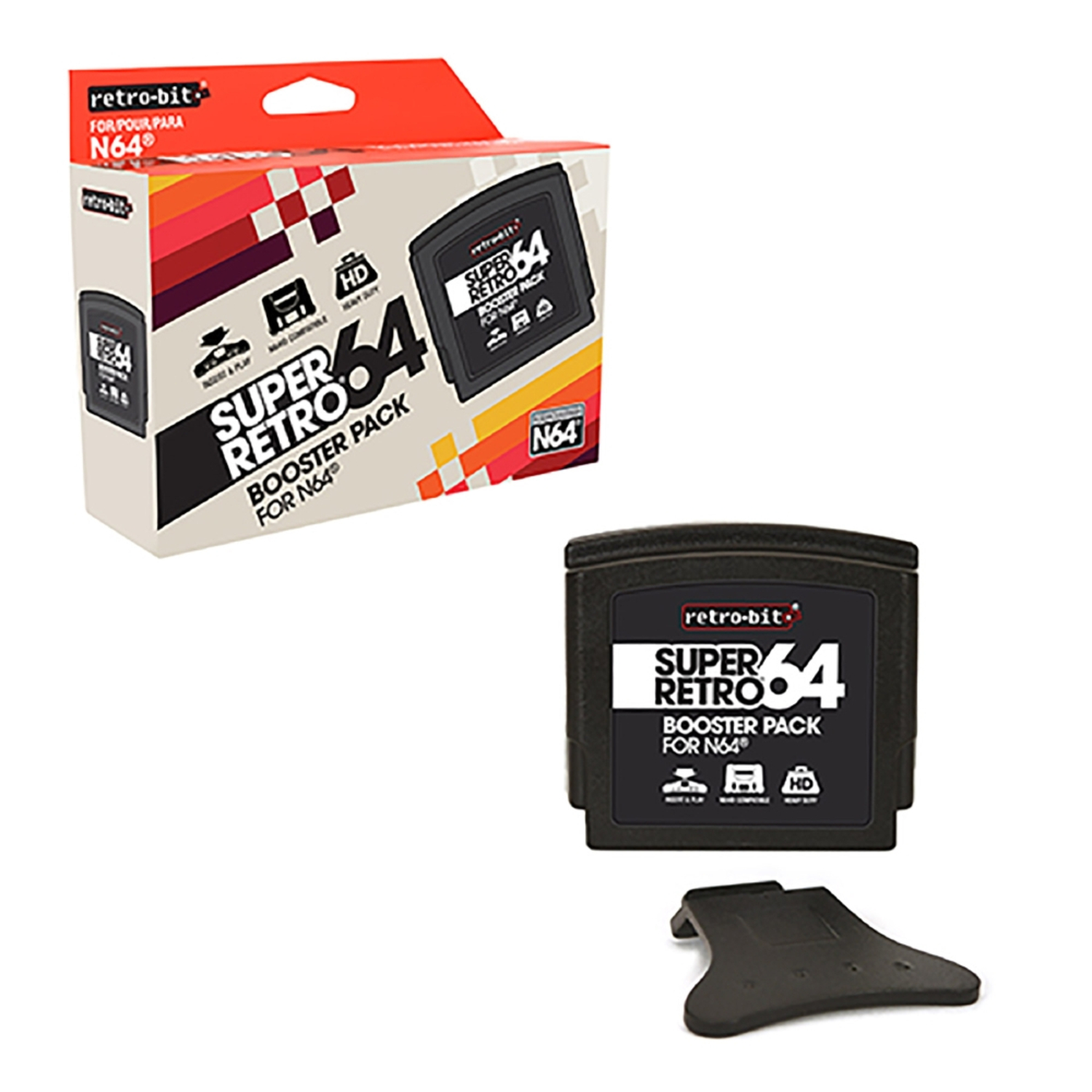 Retro-Bit rb-n64-0247 N64 Booster Pack