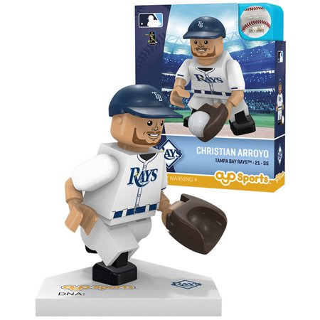 Christian Arroyo Tampa Bay Rays OYO Sports Player MLB Minifigure - No Size
