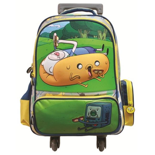 Adventure Time 3375 Hotdog Finn Backpack with Wheels