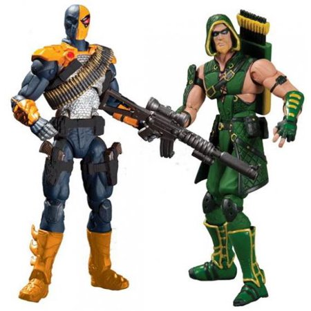 Among Green (DC Injustice: Gods Among Us Deathstroke & Green Arrow Action Figure)