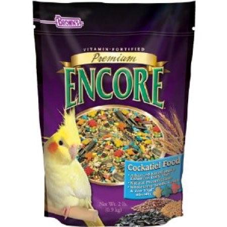 Brown's Encore Premium Cockatiel Bird Food, 2 Lb