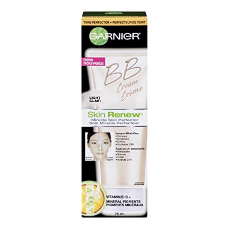 Garnier Skin Renew Miracle Skin Perfector Bb Cream, Normal To Dry Skin, Fair/Light, 2.5 Fluid
