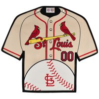 St. Louis Cardinals 14'' x 22'' Jersey Traditions Banner - White/Red - No Size
