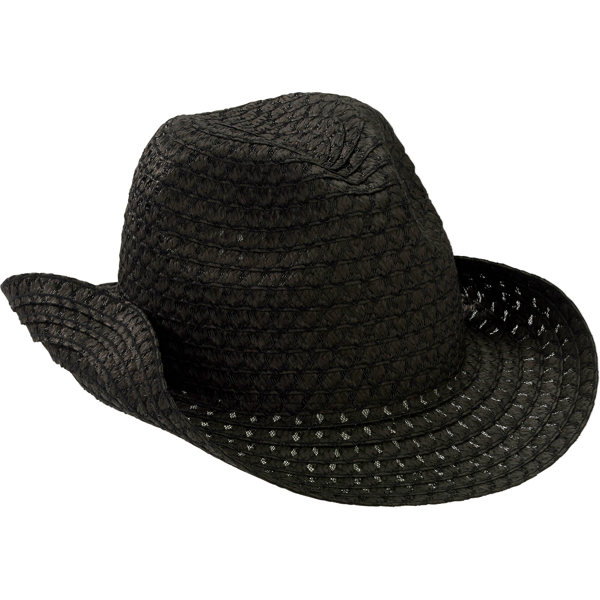 Women's Basic Straw Cowboy Hat