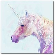 "Courtside Market Mystic Unicorn II 16""x16"" Gallery-Wrapped Canvas Wall Art"
