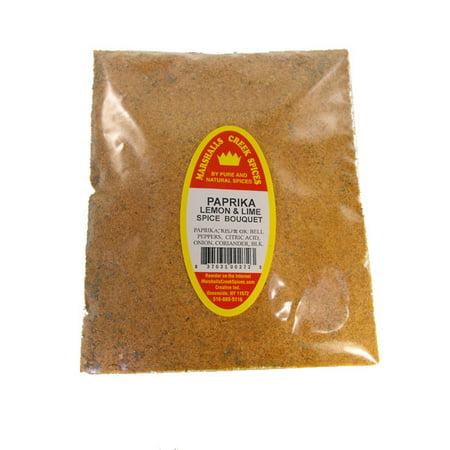 Lemon Bouquet - Family Size Refill Marshalls Creek Spices Low Salt, Paprika Lemon & Lime Spice Bouquet, 24 Ounces