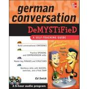 Demystified: German Conversation Demystified (Other)