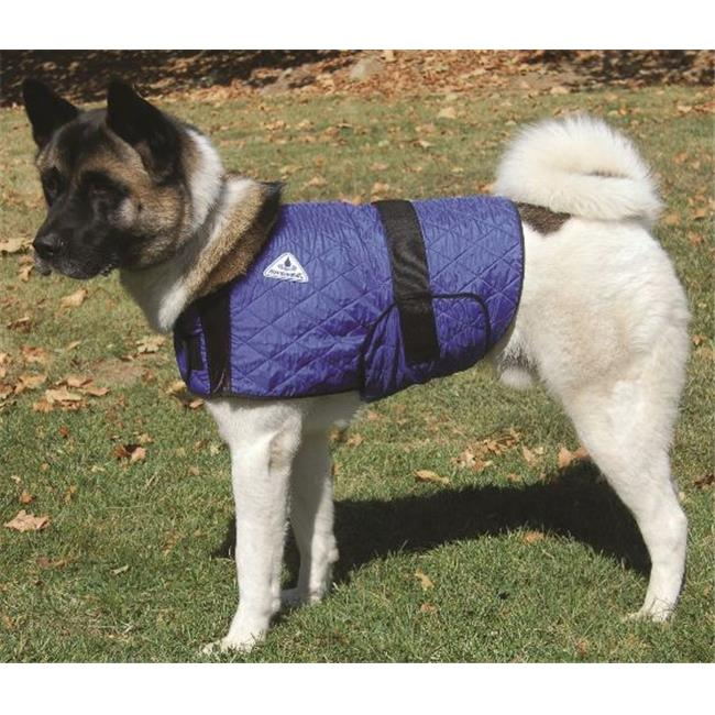 Techniche 8529MBlue Medium HyperKewl Evaporative Cooling Dog Coat - Blue