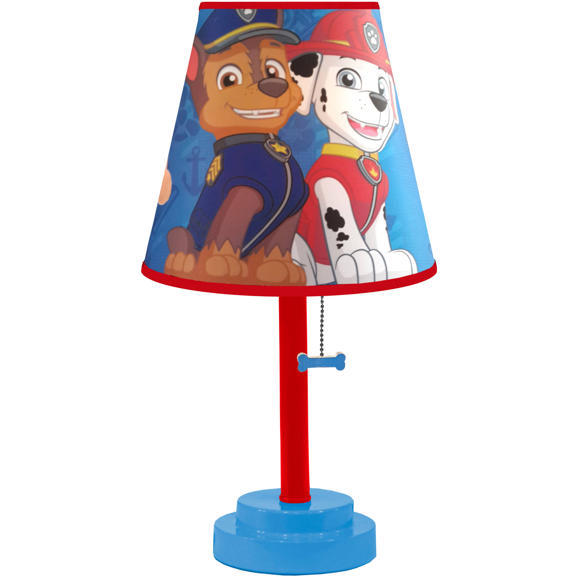 PAW Patrol Die-Cut Table Lamp with Bulb