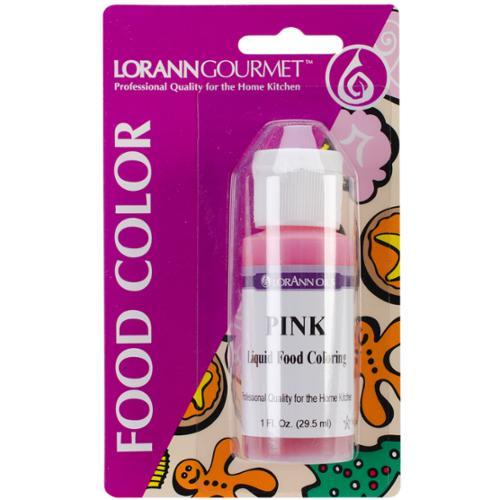 Liquid Food Color 1 Ounce-Pink