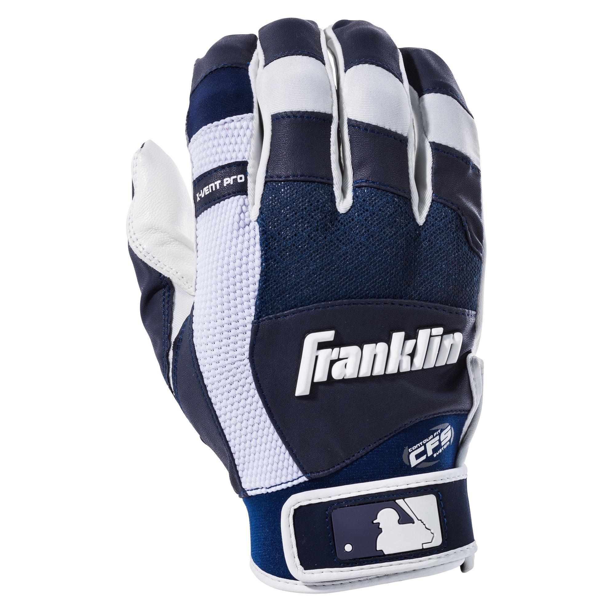 Franklin Sports MLB X-Vent Pro Batting Gloves by Franklin Sports