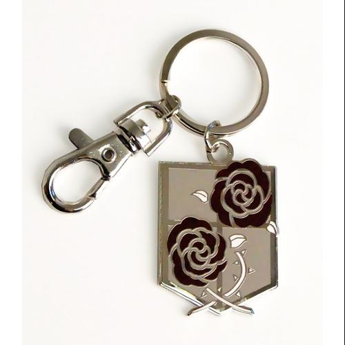Key Chain - Attack on Titan - New Garrison Regiment Metal Licensed ge36796