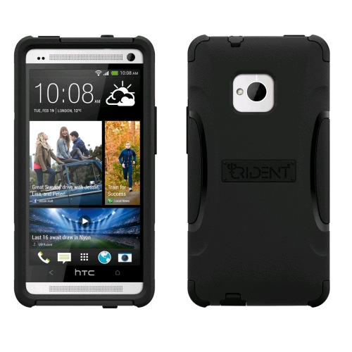 Trident Aegis Case for HTC One M7 - Black