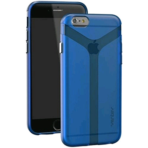 ventev skin case cover for apple iphone 6 / iphone 6s (blue)