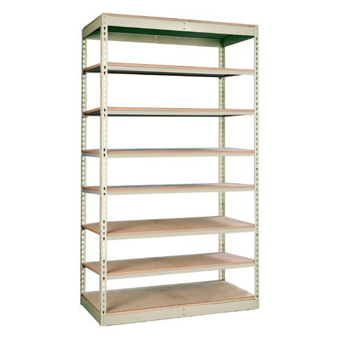 Hallowell Rivetwell Single Rivet Boltless 84'' H 7 Shelving Unit