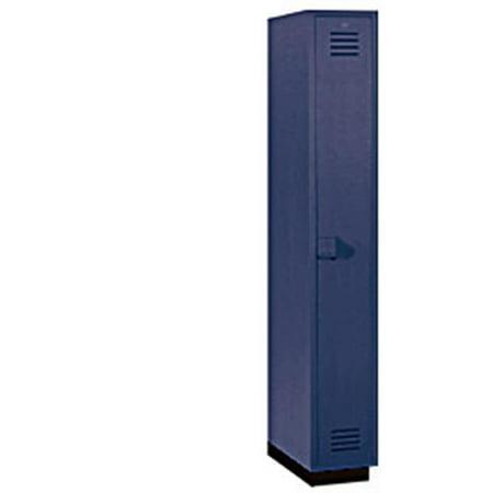 1 in. W Single Tier Plastic Locker - -