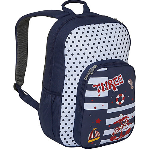 Three Nautical Backpack