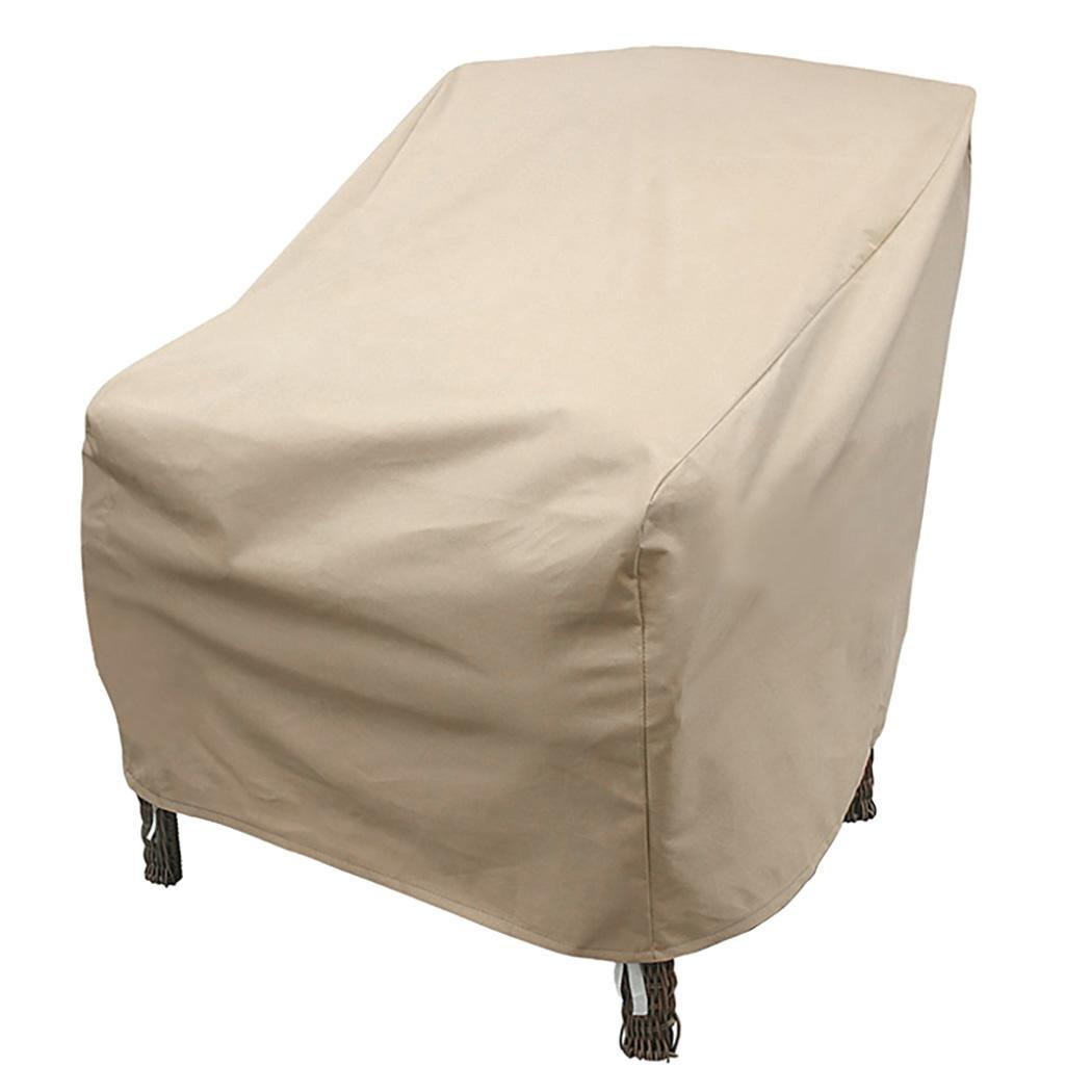 Waterproof Dust Cover High Back Patio Chair Furniture Storage Cover