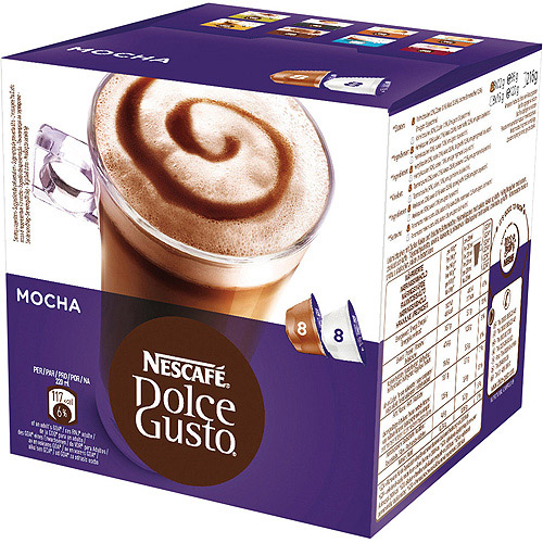 Nescafe Dolce Gusto Mocha Coffee, 16 ct (8 Beverages)