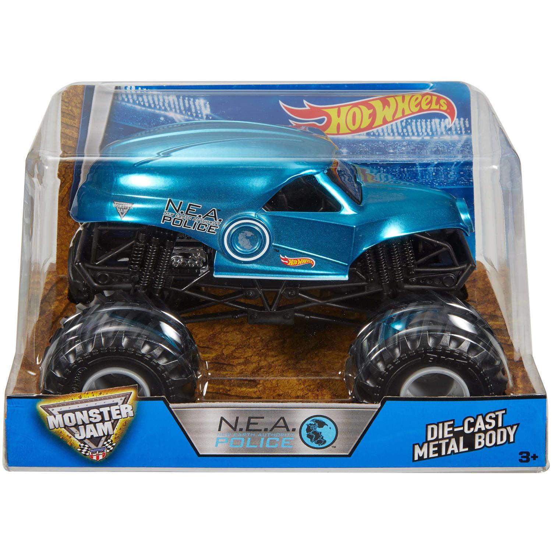 Hot Wheels Monster Jam Nea, Blue by Mattel