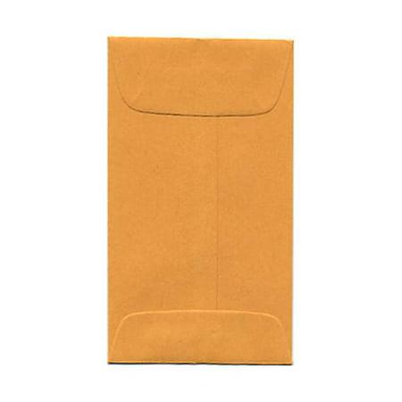 - JAM Paper® #3 Coin Envelope, 2 1/2