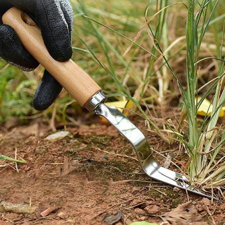 Jackson Digging Fork (Jeobest Hand Weeding Fork - Manual Weeder Fork - Hand Weeder Fork - Garden Weeder Fork - Weeding Fork Hand Tool Garden Wood Handle Manual Weeder Fork Digging Puller Weeding Tool MZ )