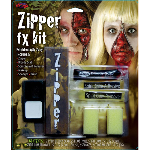 Zipper FX Kit Halloween Accessory