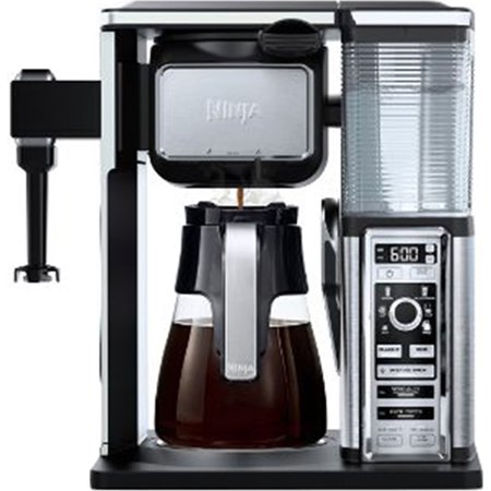 Refurbished Ninja Coffee Bar Glass Carafe System with Frother,